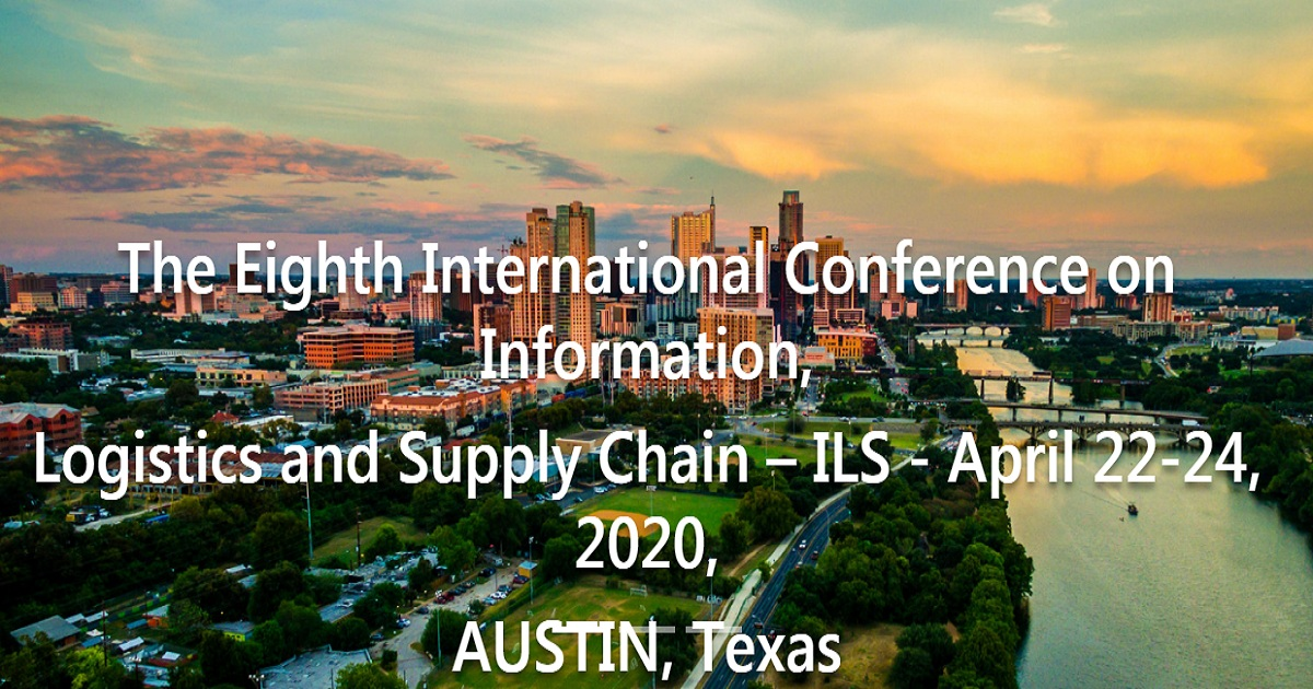 Information, Logistics and Supply Chain – ILS 2020