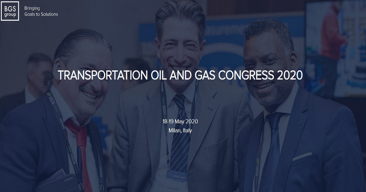 TRANSPORTATION OIL AND GAS CONGRESS 2020