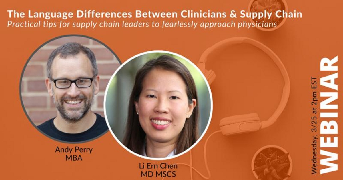 Language Differences Between Clinicians & Supply Chain