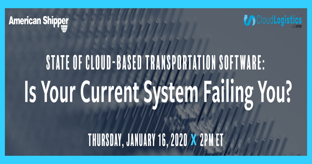 State of Cloud-Based Transportation Software: Is Your Current System Failing You?