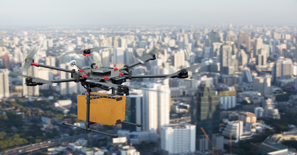 Why surface transportation agencies use drones