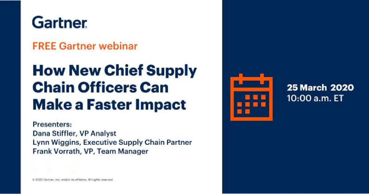 How New Chief Supply Chain Officers Can Make a Faster Impact
