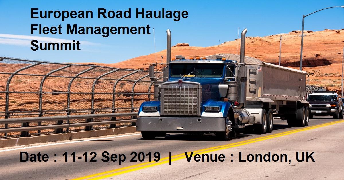 European Road Haulage Fleet Management Summit