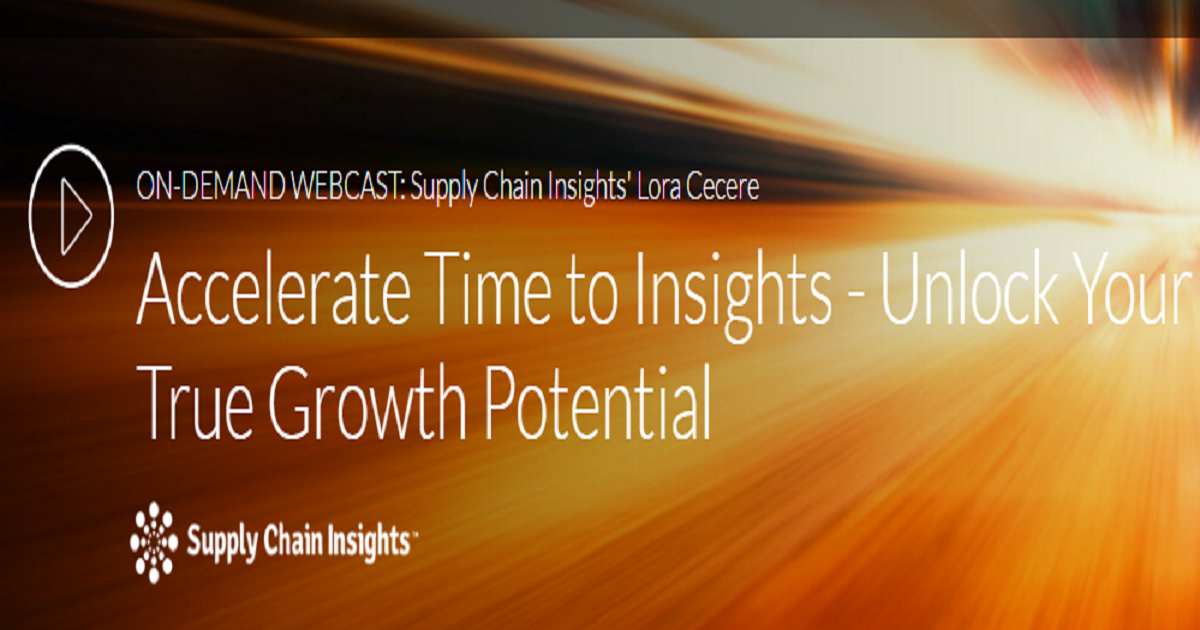 Accelerate Time to Insights - Unlock Your True Growth Potential