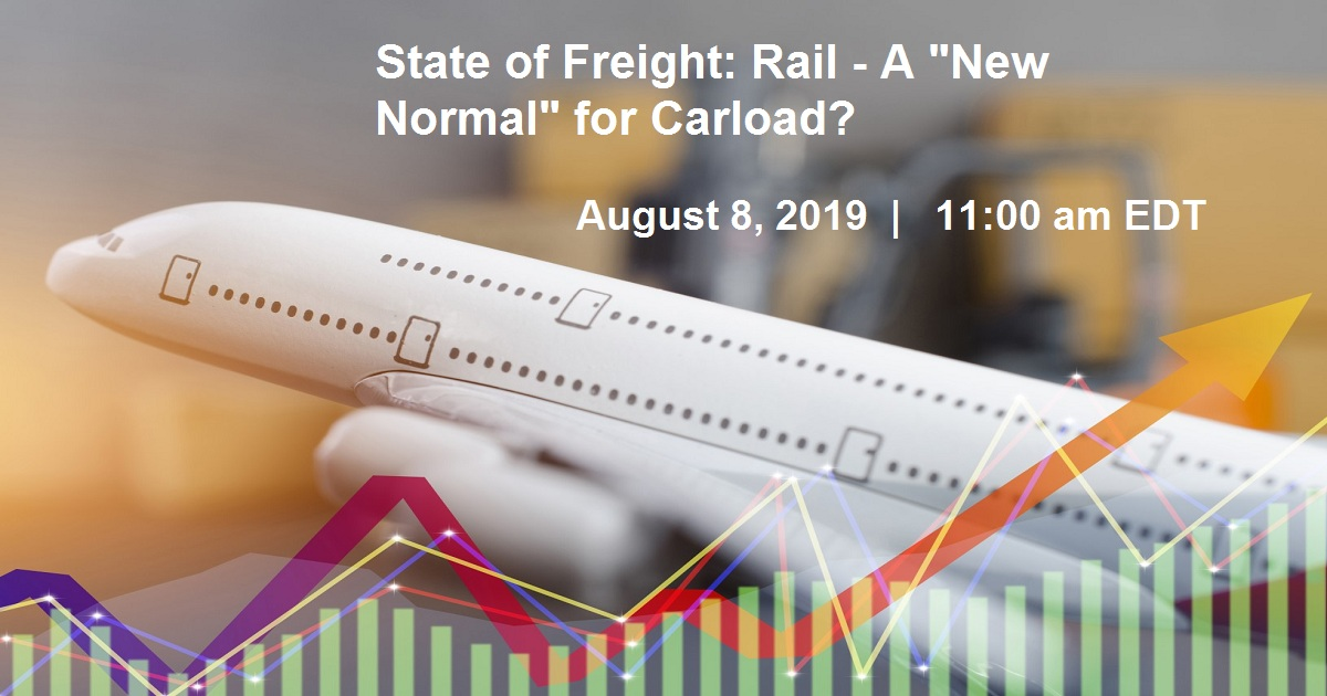 """State of Freight: Rail - A """"New Normal"""" for Carload?"""