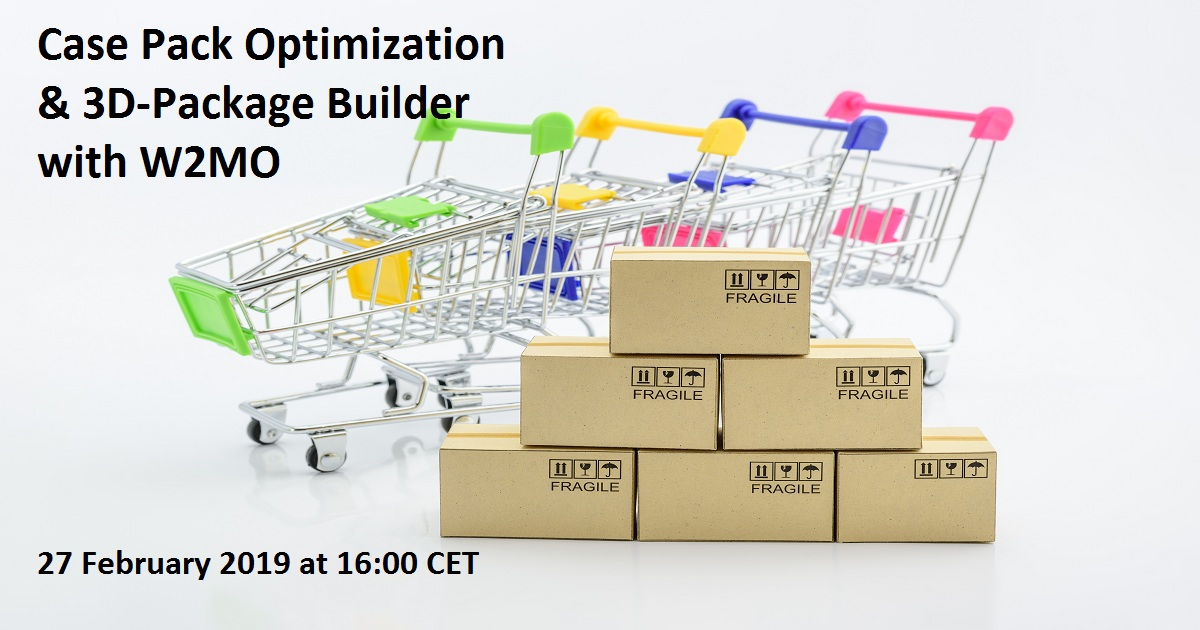 Case Pack Optimization & 3D-Package Builder with W2MO