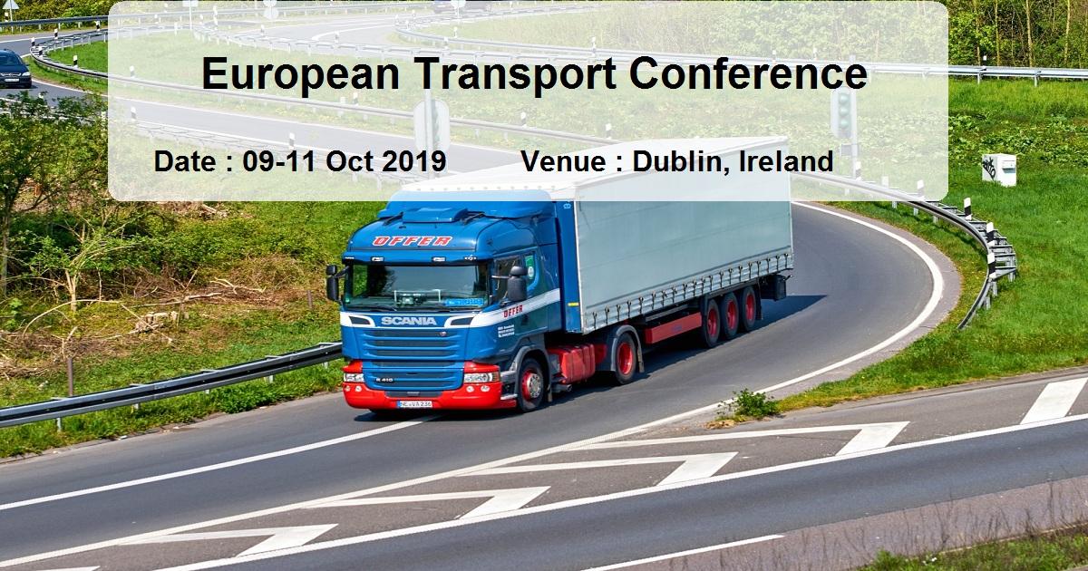 European Transport Conference
