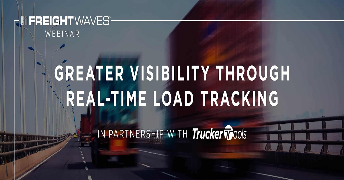 Greater Visibility Through Real-Time Load Tracking