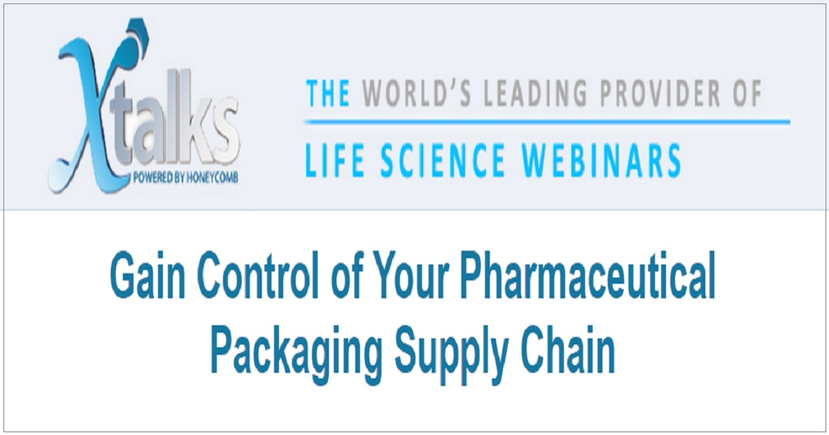 Gain Control of Your Pharmaceutical Packaging Supply Chain