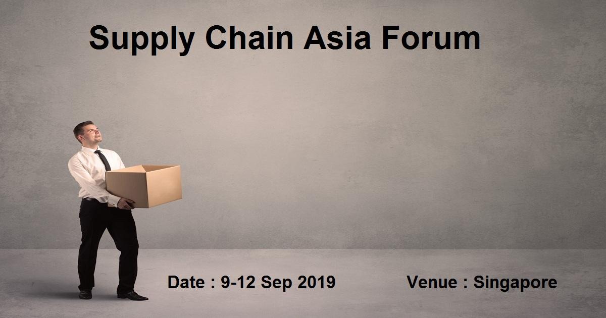 Supply Chain Asia Forum