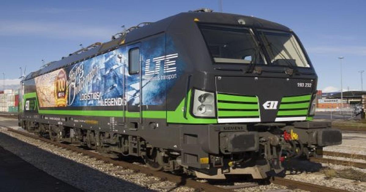 ELL receives 100th Siemens Vectron locomotive