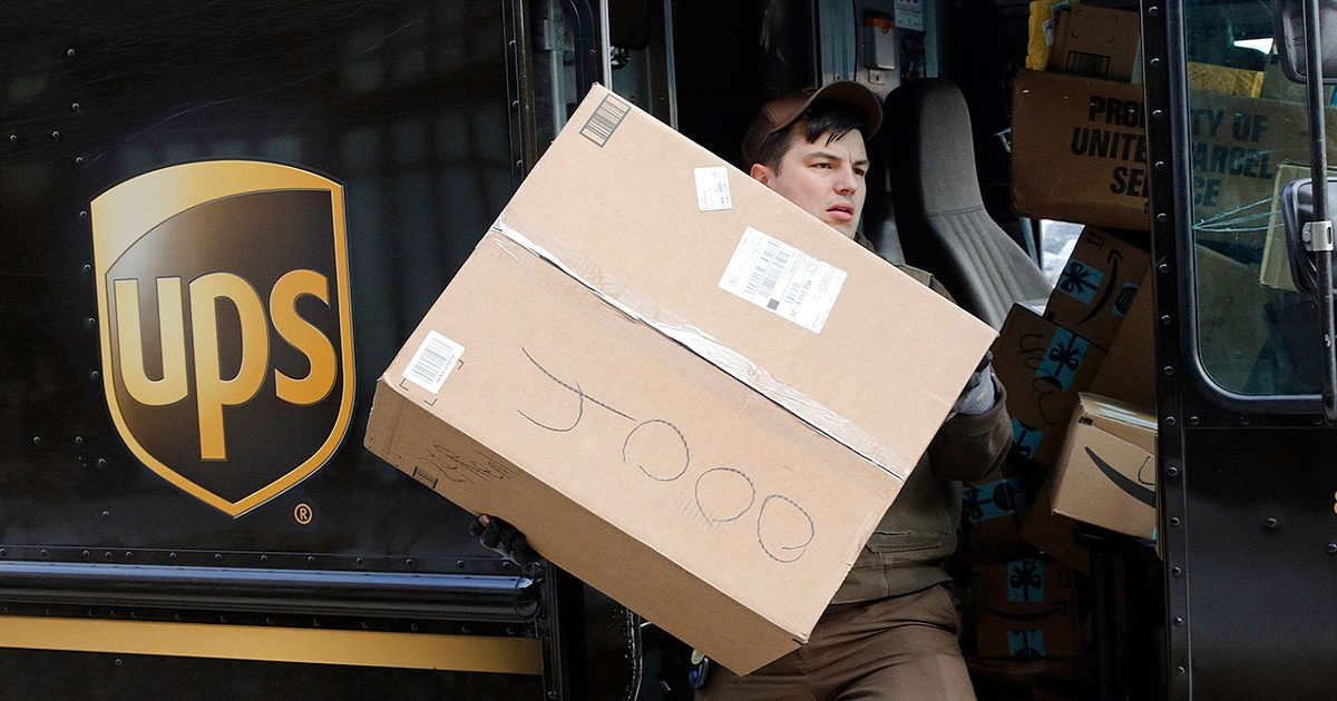 UPS Holiday Package Returns Hit Peak Before Year End for First Time