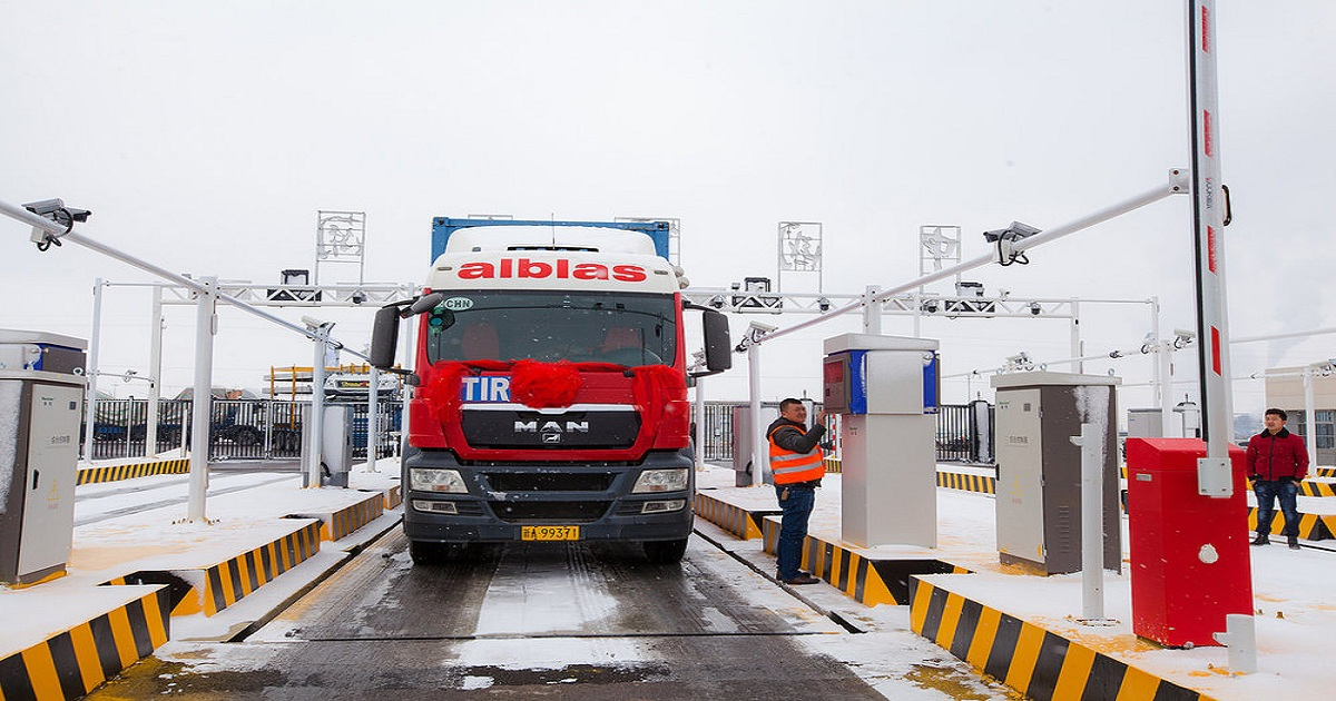 How a WWII agreement allows trucks to travel from China to Europe in just 13 days