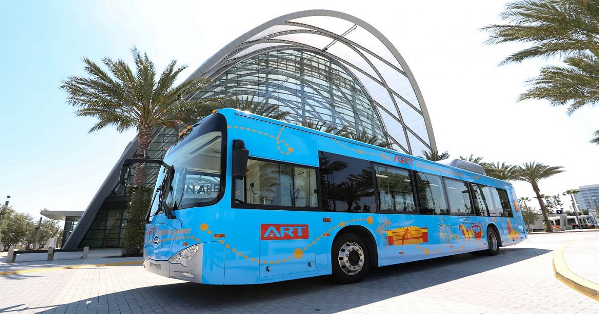 Anaheim, Ca To Add 40 New Electric Buses To Public Fleet
