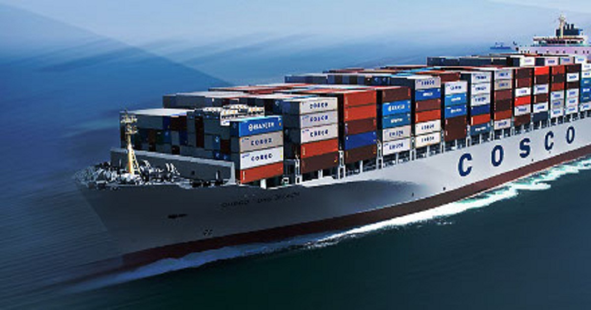 Cosco Shipping Ports on the rise