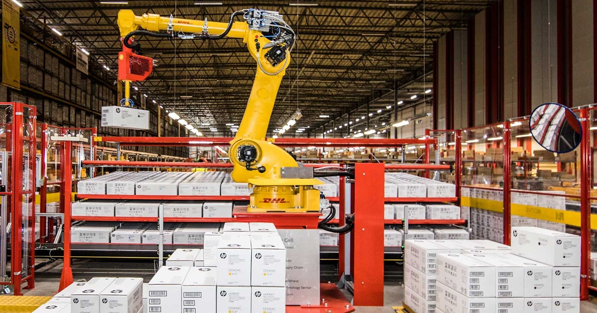 DHL's innovation center driving digitalisation and sustainability