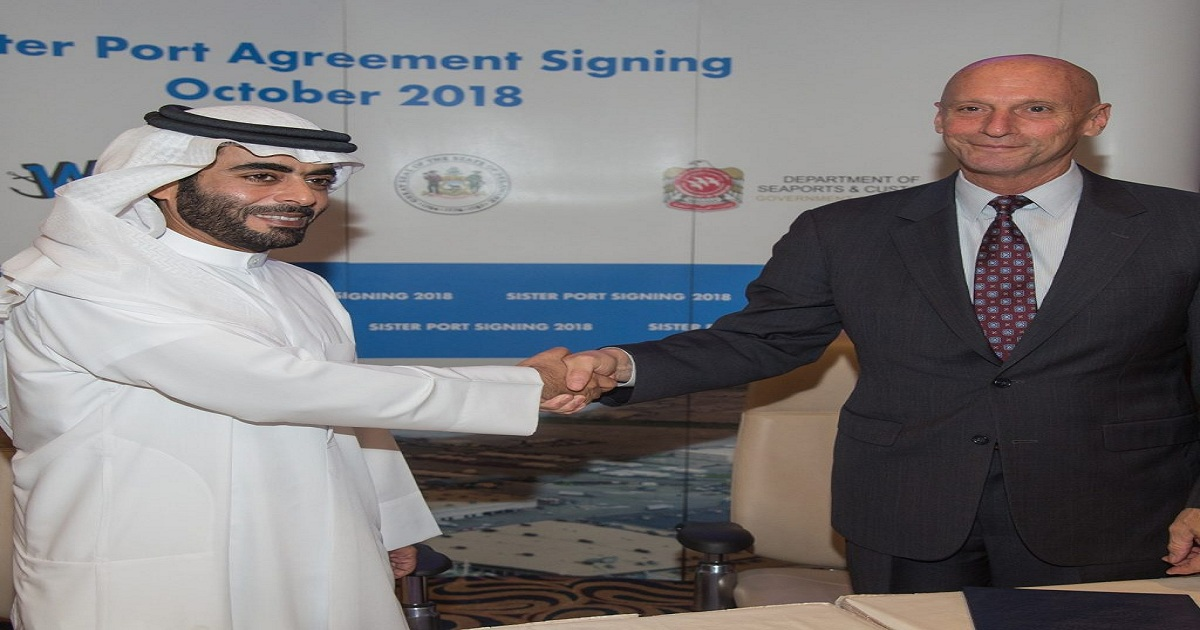 Gulftainer hosts sister port agreement signing between major entities