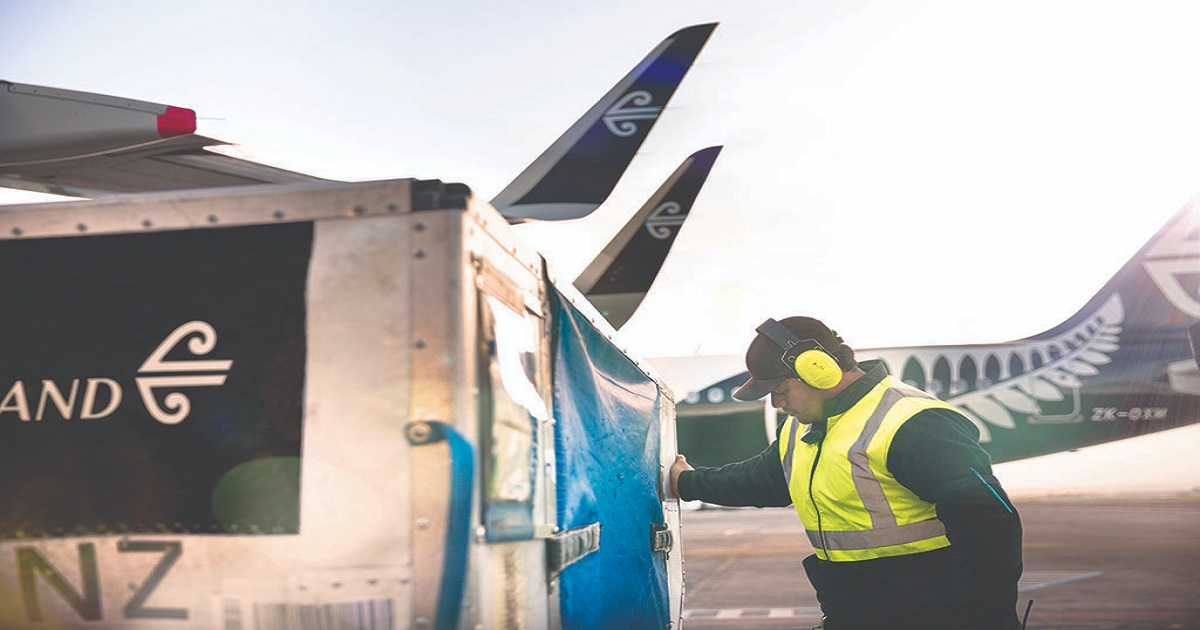 Air New Zealand collaborates with Red Cargo