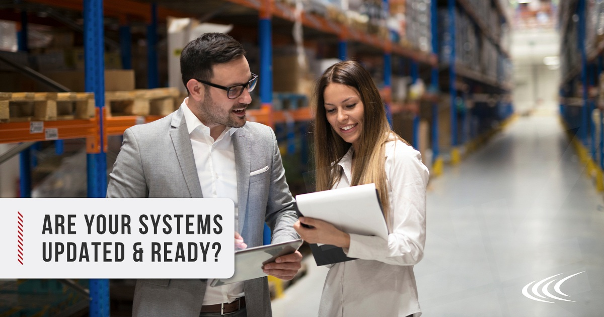 SUPPLY CHAIN PEAK SEASON TECHNOLOGY: ARE YOUR SYSTEMS UPDATED & READY?