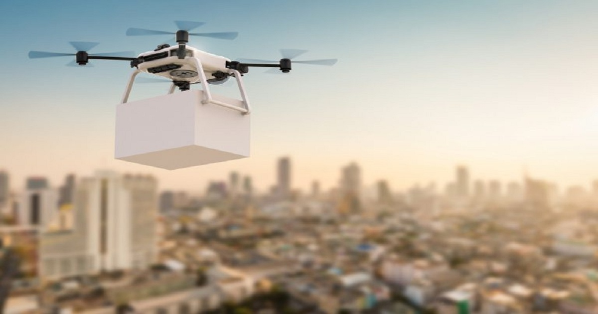 DRONE DELIVERY COMING SOON TO A SUPPLY CHAIN NEAR YOU
