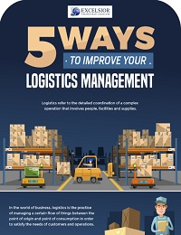 5 WAYS TO IMPROVE YOUR LOGISTICS MANAGEMENT