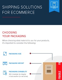SHIPPING SOLUTIONS FOR ECOMMERCE